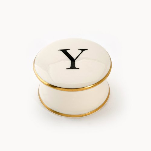 BASKERVILLE LETTER Y TRAVEL CANDLE