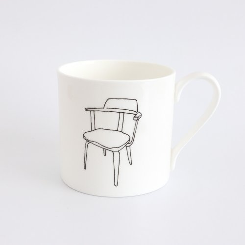 BAUHAUS W199 CHAIR HALF PINT MUG