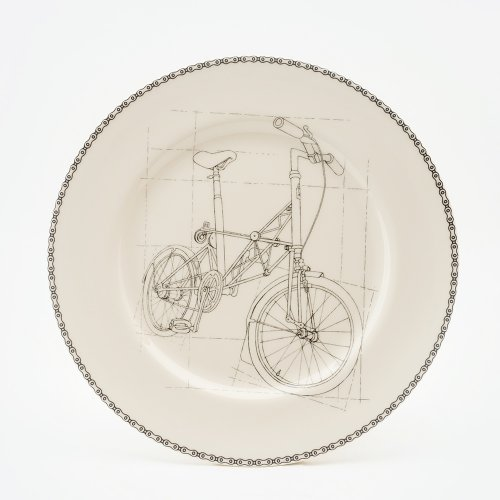 SUSPENSION BICYCLE DINNER PLATE