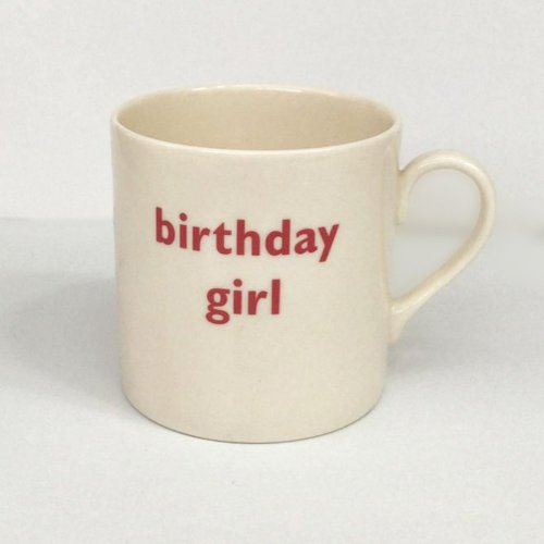 BIRTHDAY GIRL CHILD'S MUG