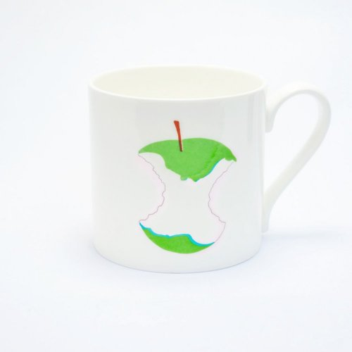 BITE ME APPLE MUG
