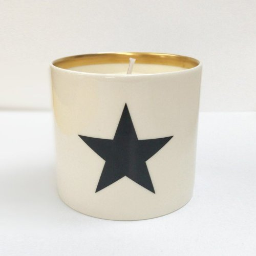 BLACK STAR CANDLE