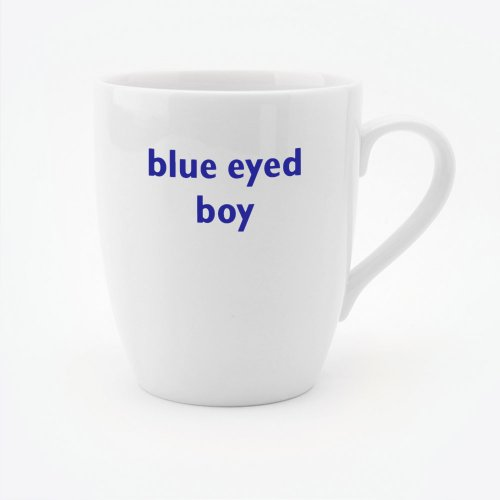 BLUE EYED BOY MUG