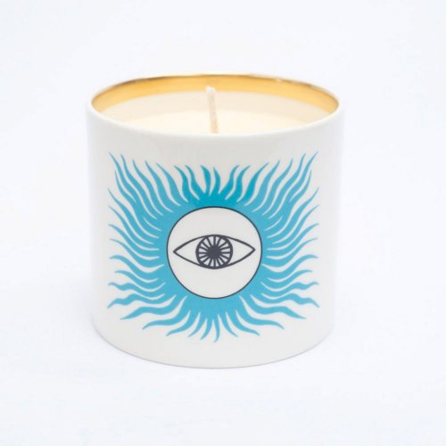 BLUE EYED SUN CANDLE