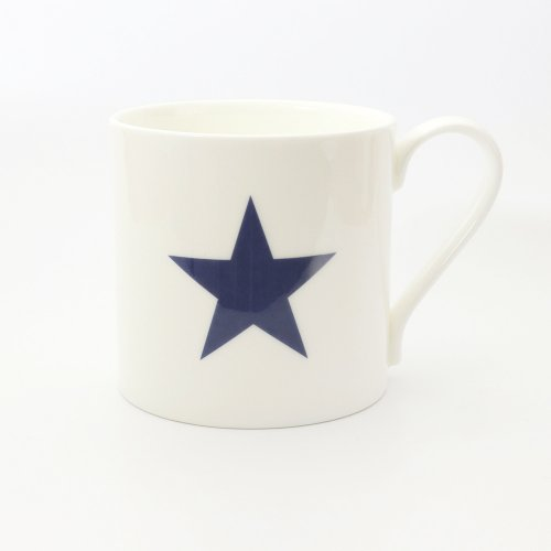 BLUE STAR HALF PINT MUG