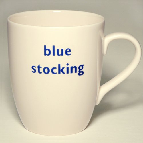 SALE! BLUE STOCKING MUG