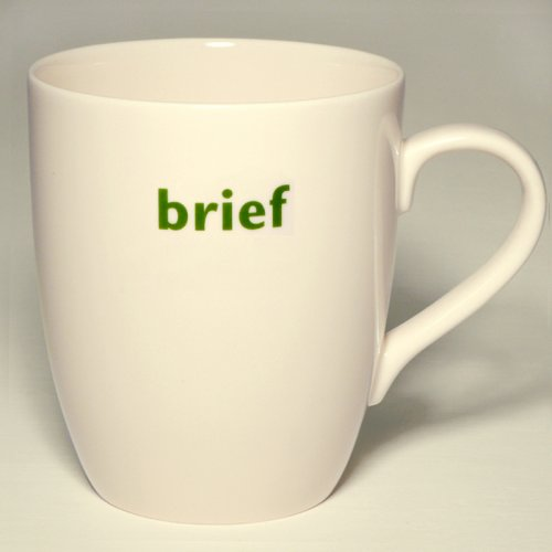 SALE! BRIEF MUG