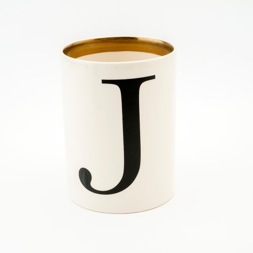 BASKERVILLE LETTER J LARGE PEN POT