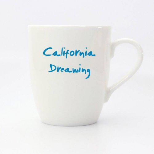 CALIFORNIA DREAMING CLASSIC MUG