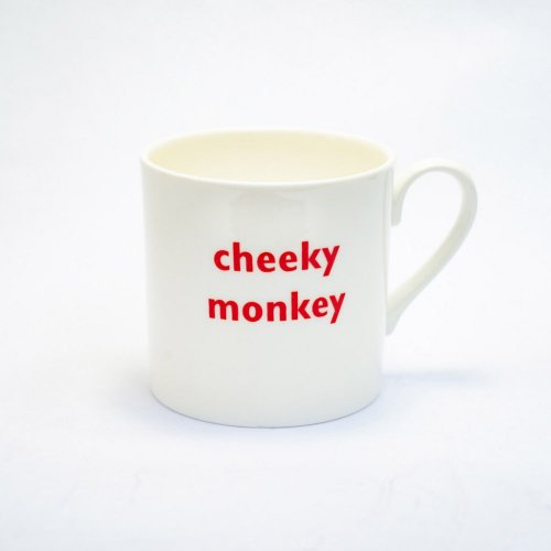 CHEEKY MONKEY CHILDS MUG