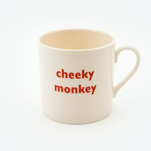 CHEEKY MONKEY CHILD'S MUG