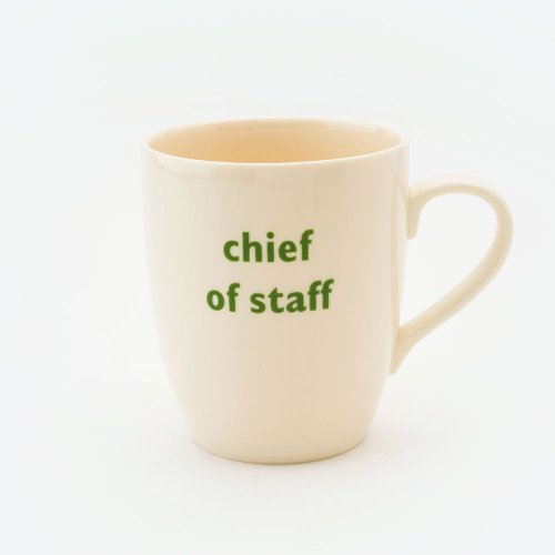 CHIEF OF STAFF MUG