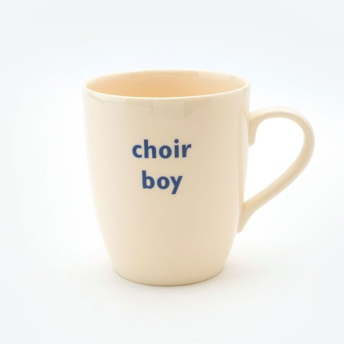 CHOIR BOY MUG