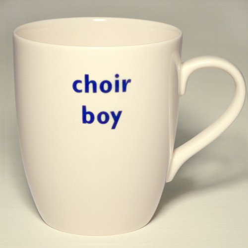 SALE! CHOIR BOY MUG