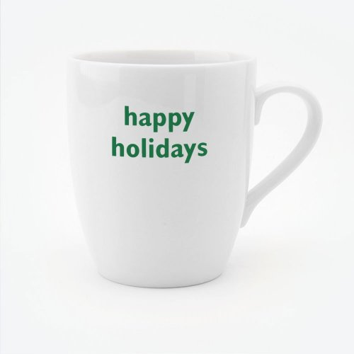 CHRISTMAS - HAPPY HOLIDAYS MUG