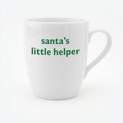CHRISTMAS - SANTA'S LITTLE HELPER MUG