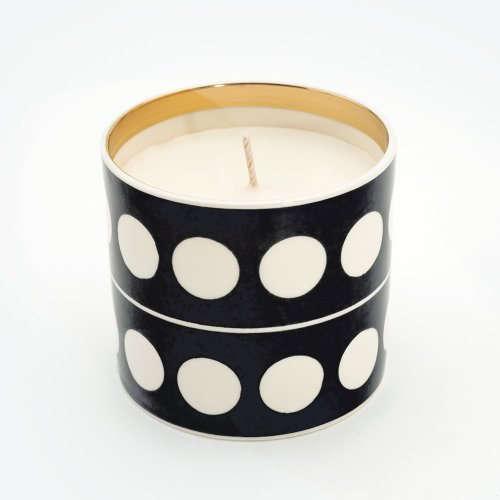 CIRCLE BLACK 'HOLY GRAIL' CANDLE
