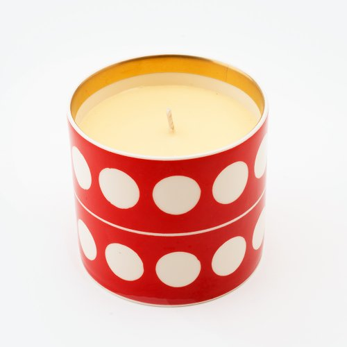 CIRCLE VERMILLION 'SHAME' CANDLE