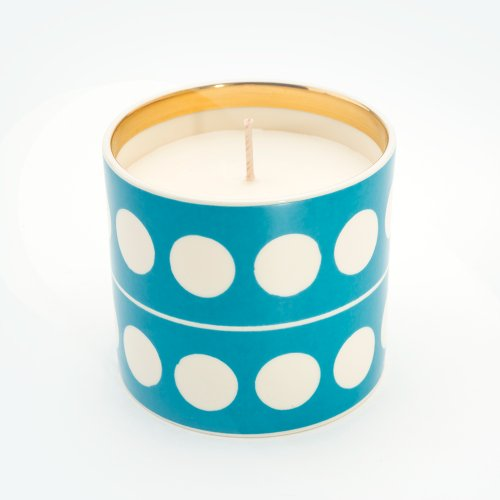 CIRCLE TURQUOISE 'BESOTTED' CANDLE