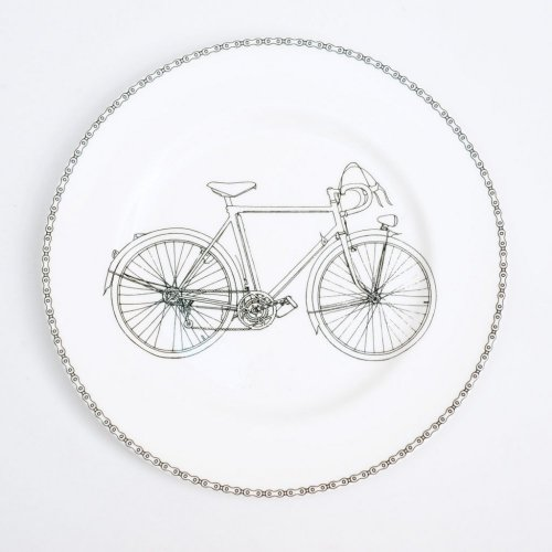 BICYCLE DINNER PLATE