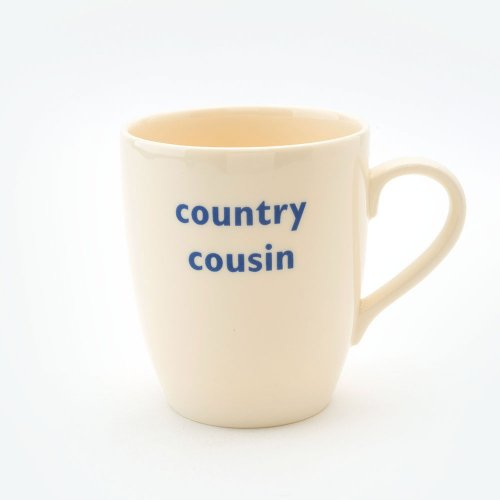 COUNTRY COUSIN MUG