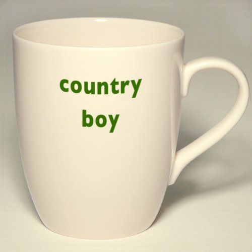 SALE! COUNTRY BOY MUG