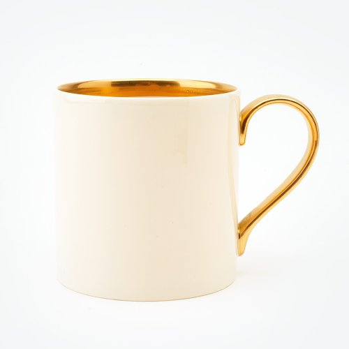 BESPOKE 22CT GOLD HALF PINT MUG