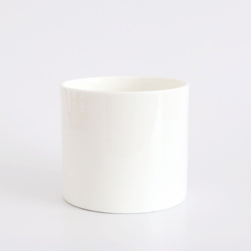 CUSTOMISE WHITE BONE CHINA SMALL PEN POT