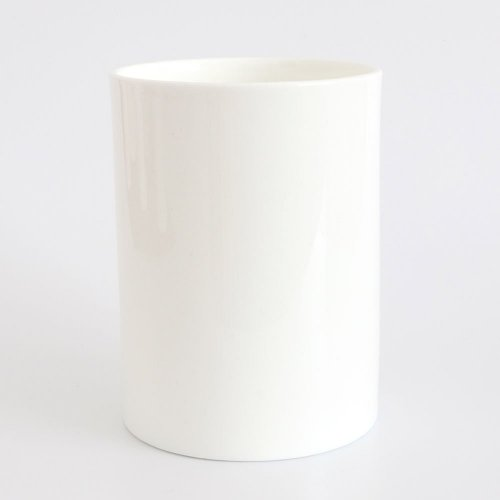 BESPOKE WHITE BONE CHINA LARGE PEN POT