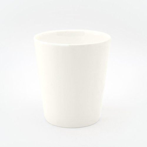 BESPOKE TOOTHBRUSH HOLDER WHITE BONE CHINA