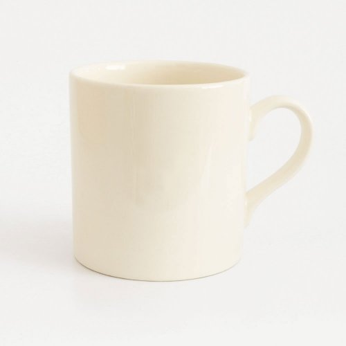 TYPOGRAPHIC CHOICE - VEGAN CREAMWARE MUG