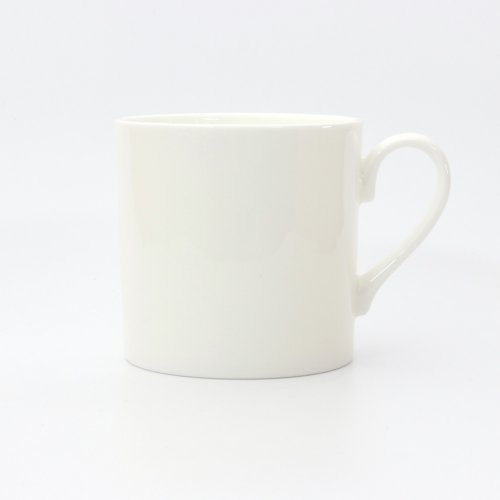 BESPOKE SMALL WHITE BONE CHINA MUG