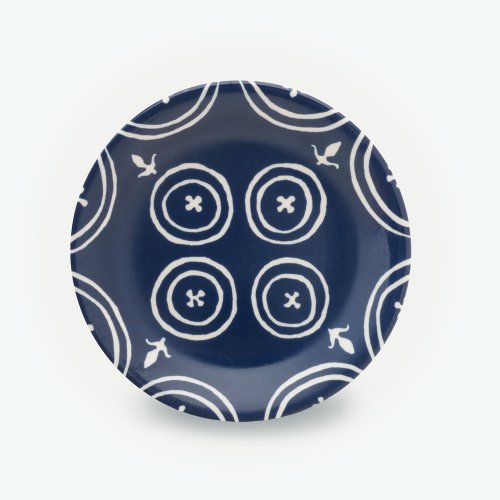 MIDNIGHT BLUE SMALL FLEUR-DE-LYS PLATE