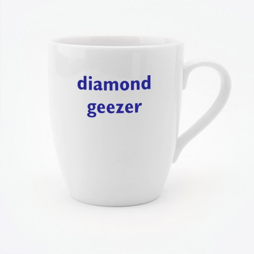 DIAMOND GEEZER MUG