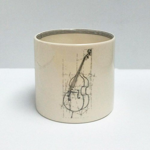DOUBLE BASS SMALL PEN POT