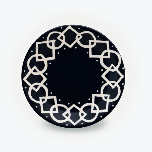BLACK MEDIAEVAL - SMALL PLATE