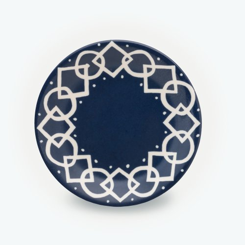 MIDNIGHT BLUE MEDIAEVAL PLATE