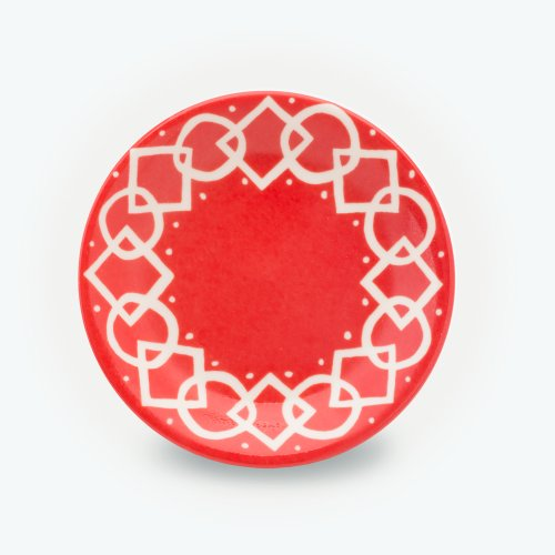 VERMILLION MEDIAEVAL - SMALL PLATE