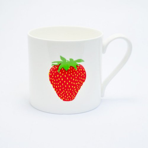 EAT ME STRAWBERRY MUG