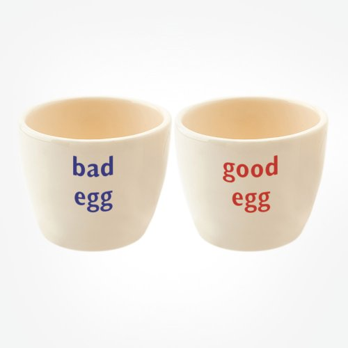 BAD EGG/GOOD EGG TOT PAIR
