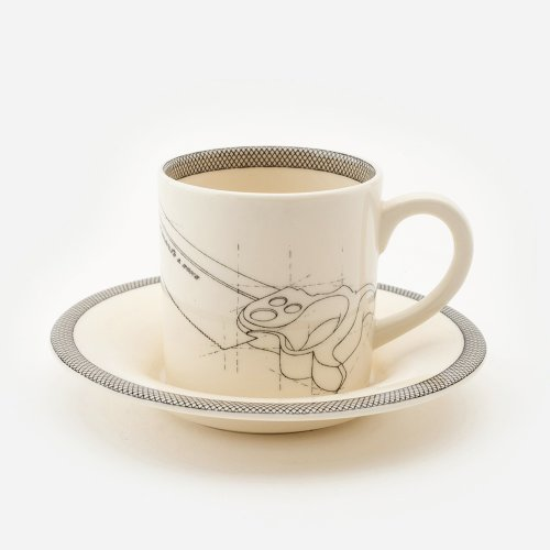 SAW ESPRESSO CUP AND SAUCER