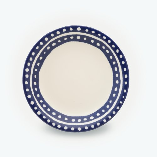MIDNIGHT BLUE SMALL CIRCLE PLATE