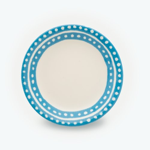 TURQUOISE SMALL CIRCLE - SMALL PLATE