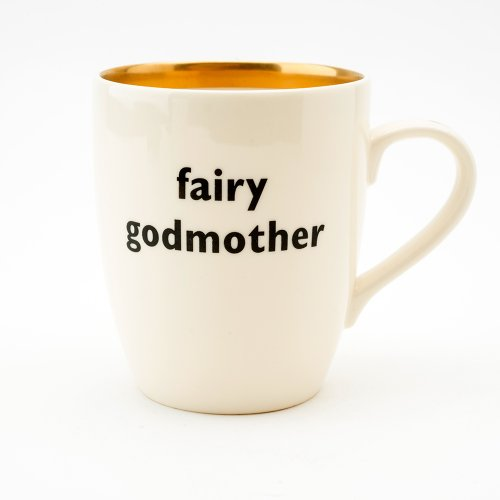 FAIRY GODMOTHER GOLD MUG