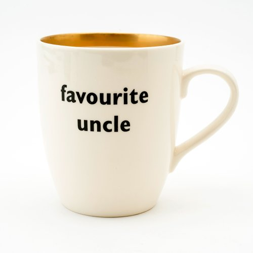 FAVOURITE UNCLE GOLD MUG