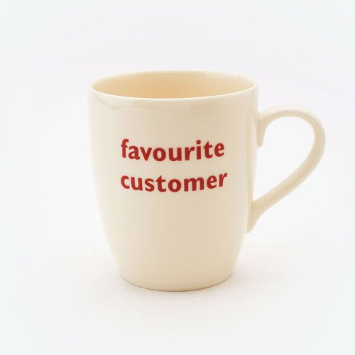 FAVOURITE CUSTOMER MUG