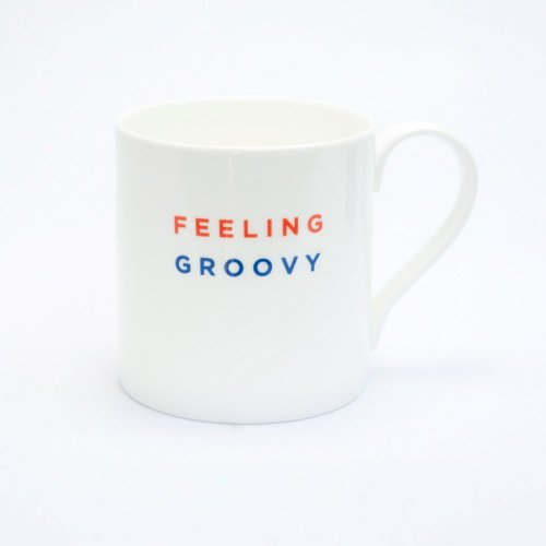FEELING GROOVY STRAIGHT MUG