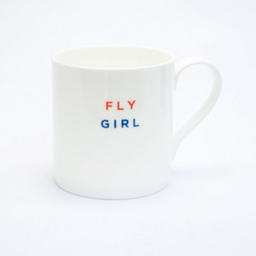 FLY GIRL STRAIGHT MUG