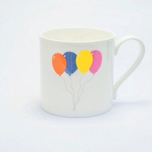 FLY ME BALLOON MUG