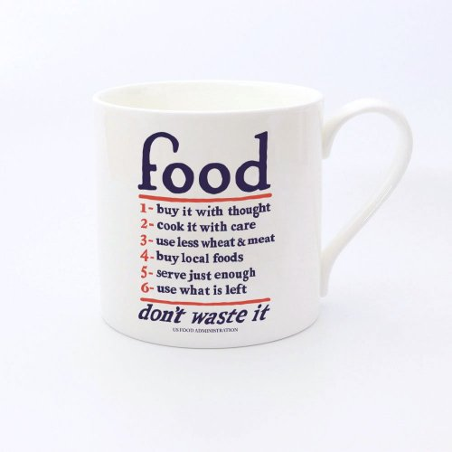 FOOD - FINE BONE CHINA HAND CAST LARGE MUG